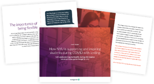Sample screenshots of NYU case study